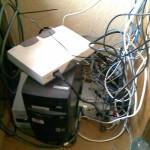 GPS bāzes stacija un tīkla aparatūra
