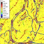 r.geomorphon analīzes piemērs